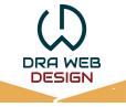 dra web design logo footer